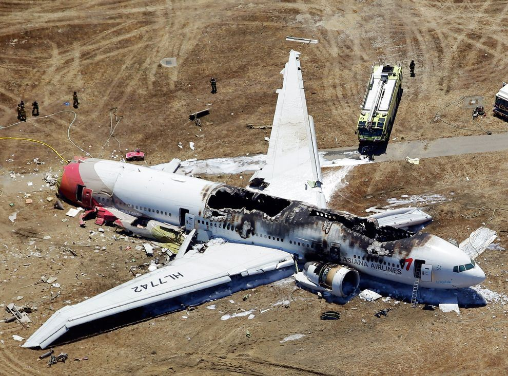 أكثر 10 حوادث طيران مؤلمة في عام 2013