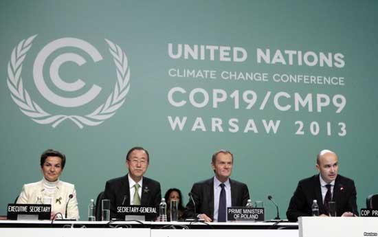 محادثات الأمم المتحدة بشأن المناخ تحقق قفزة نحو اتفاقية عام 2015