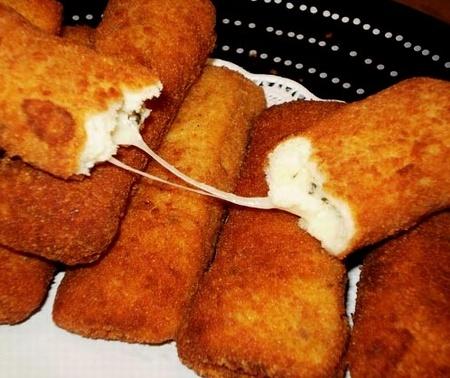 تحضير أصابع الجبنة