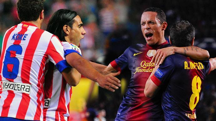 برشلونة واتليتيكو يتعادلان وريال مدريد المستفيد