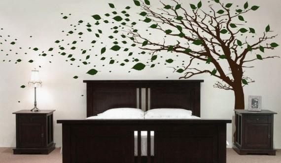 ورق جدران يضفي السحر والجمال لمنزلك
