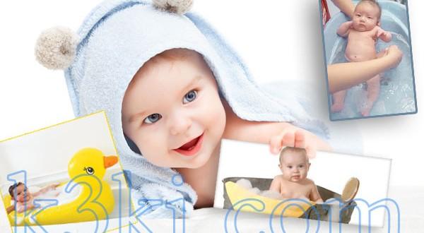 حمام الطفل بدون دموع
