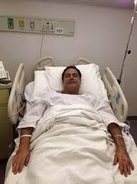 عاصي الحلاني في المشفى للعلاج
