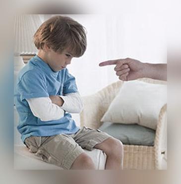 عقاب الأطفال الصحيح