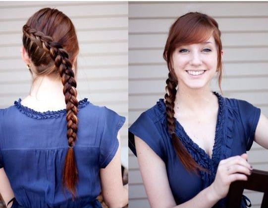 بالصور: تسريحة شعر ناعمة وبسيطة