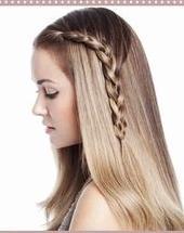 بالصور: تسريحة شعر بسيطة وسهلة