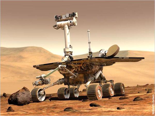 """جسم غريب يظهر على سطح المريخ أمام مسبار """"اوبرتيونيتي"""""""