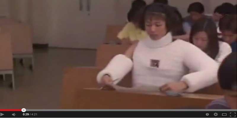 شاهد بالفيديو : أحدث طرق الغش في اليابان