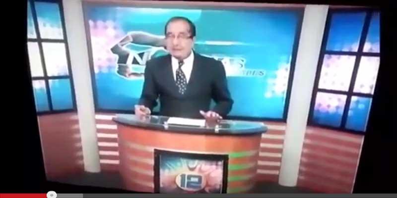 بالفيديو : لقطات مضحكه ومحرجه لمذيعين أمام الكاميرا على الهواء