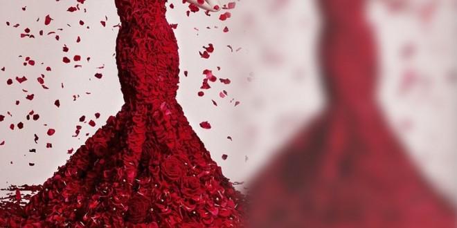 تشكيلة فساتين باللون الأحمر روووعة