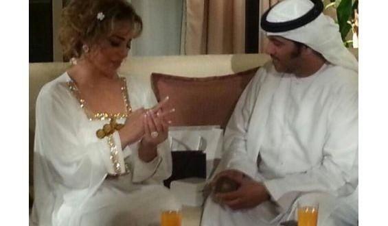 خطوبة سوزان نجم الدين وهي على ذمة زوجها!!