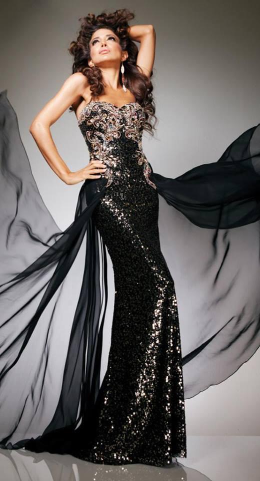 فستان أسود رووعة
