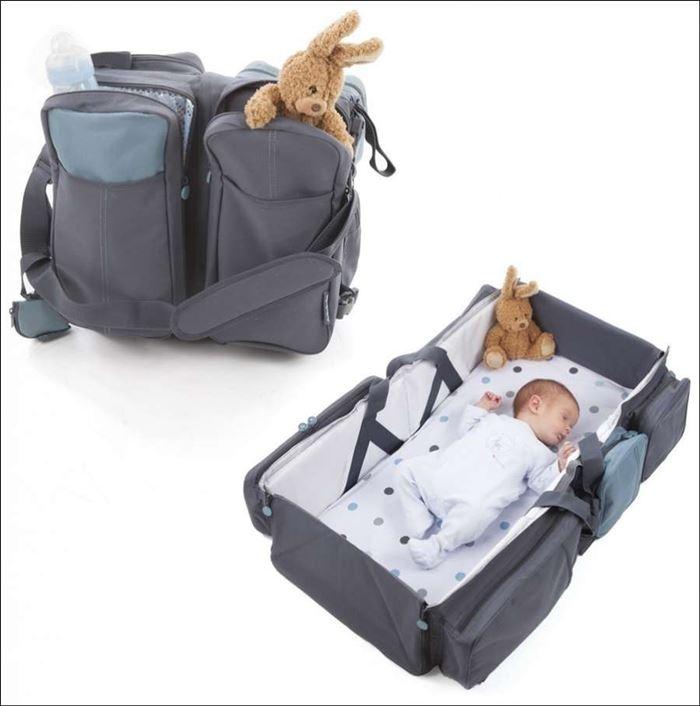 حقيبة وسرير