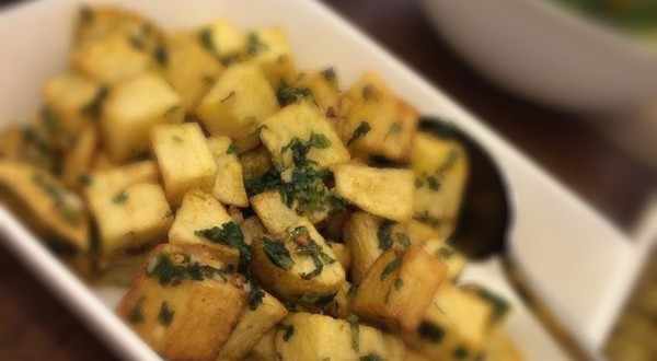 طبق البطاطا الحرة