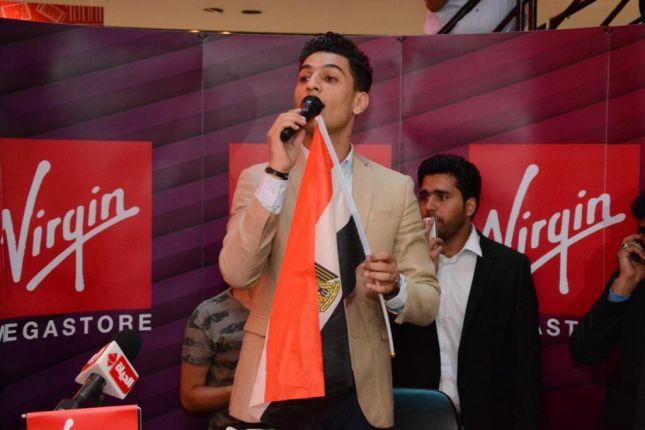 محمد عساف يحتفل بألبومه مع جمهوره المصري