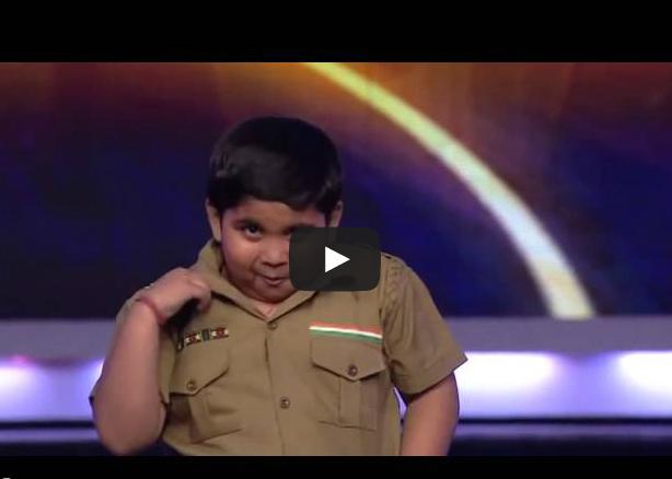 طفل هندي يضحك الجمهور بسبب بدانته في موهبة للرقص