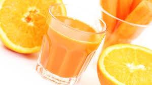 مشروب الجزر والبرتقال