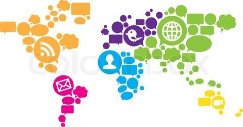 خارطة مستخدمي شبكات التواصل الإجتماعي في العالم العربي