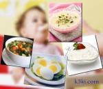 بعض الوجبات الضرورية لطفلك من الستة أشهر...