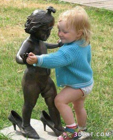 صور أطفال مضحكة