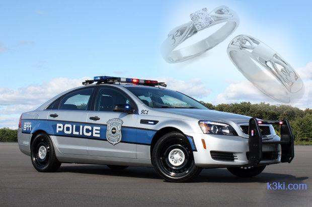 الإستعانة بالشرطة للخطوبة