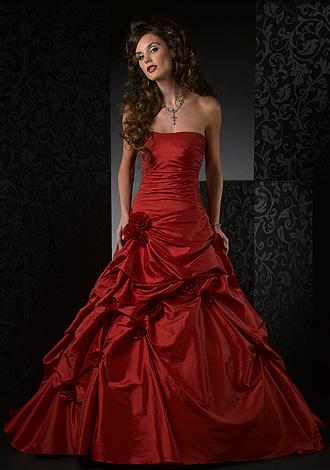 فستان أحمر روعة
