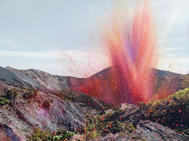 انفجار الأزهار