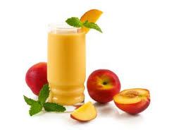 عصير الخوخ مع البرتقال