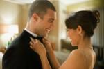 الزوج والزوجة السعيدين