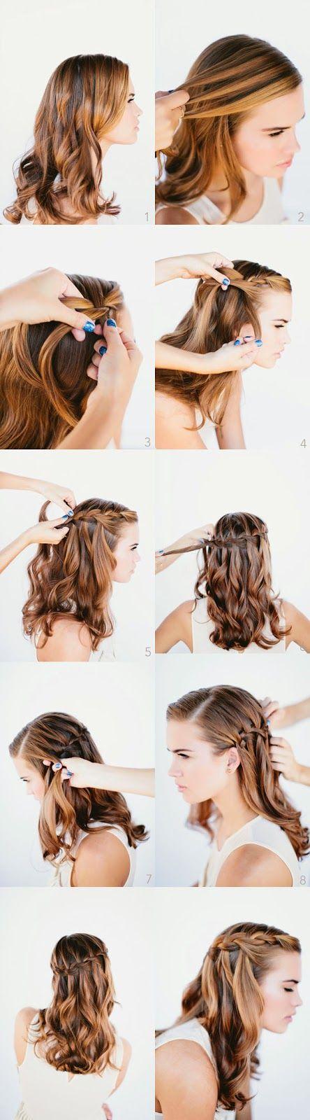 تعلم تسريحة شعر رائعة ومميزة