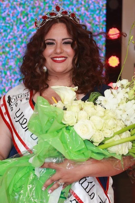 """سيرينا شعار """"ملكة جمال بدينات العرب 2015"""" والمشتركات """"لا للعنف النفسي"""""""