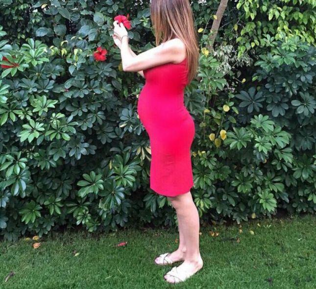 النجمة كارول سماحة حامل بالشهر السادس