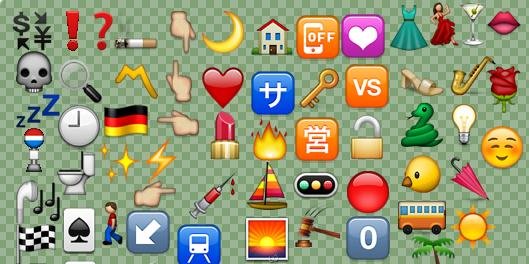 تعرفو على معنى بعض الرموز التعبيرية المحيرة Emoji عالم كعكي